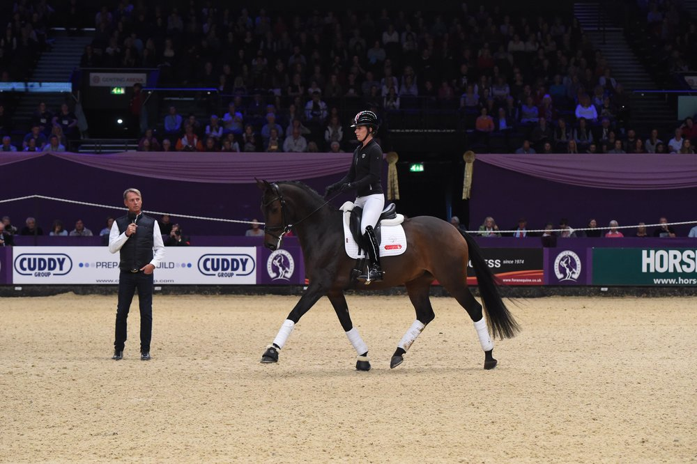Dressage rider Carl Hester to host of a dressage masterclass at this years Horse of the Year Show