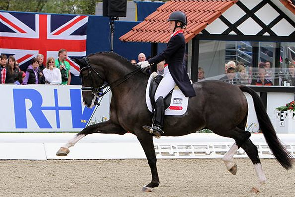 Charlotte Dujardin has five golden rules for improving paces