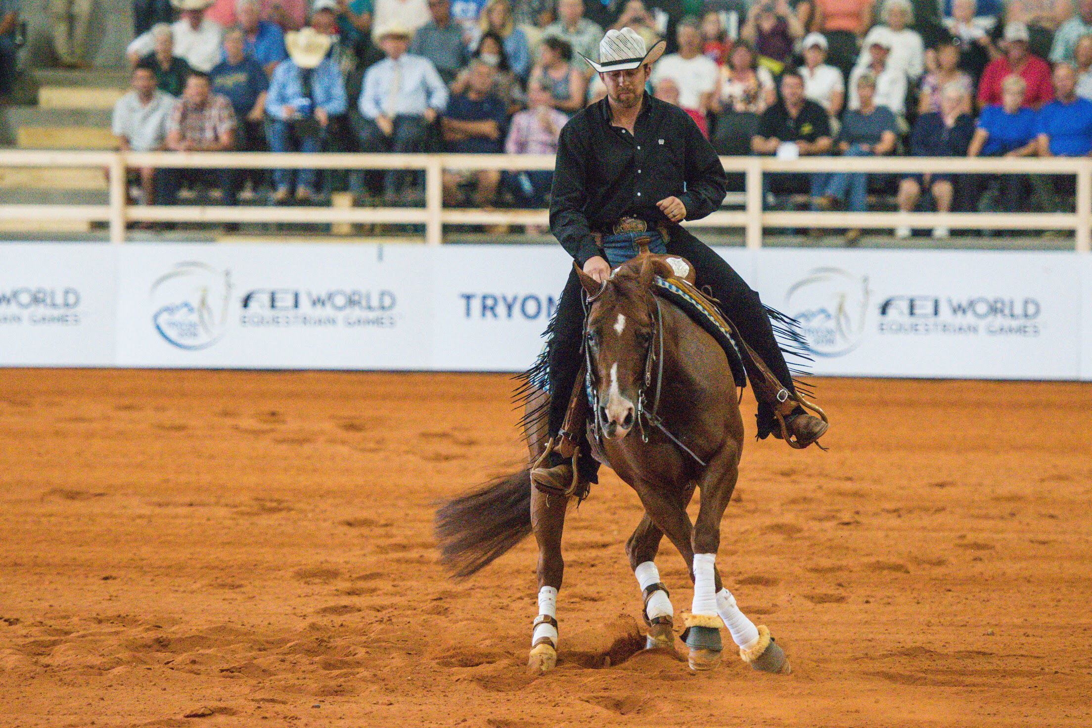 Reining Cowboys Take Centre Stage At WEG