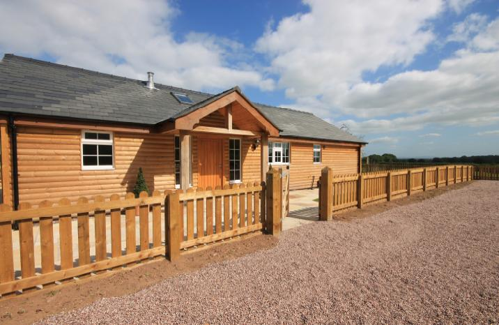 Luxury Log Cabin Riding Holiday
