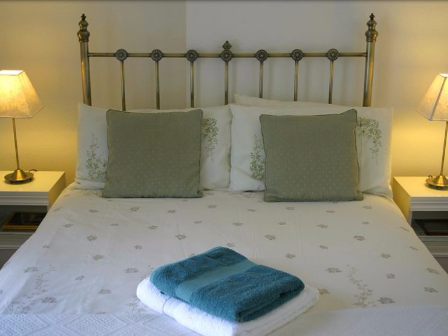 Double bed towels
