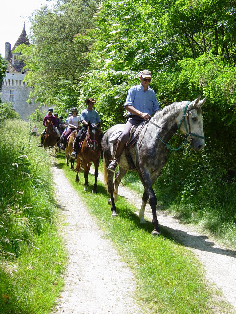 Riding in the Dordogne from £895pp