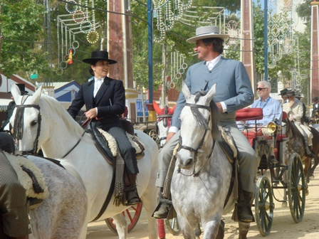 Jerez Feria & Horse Fair, Spain