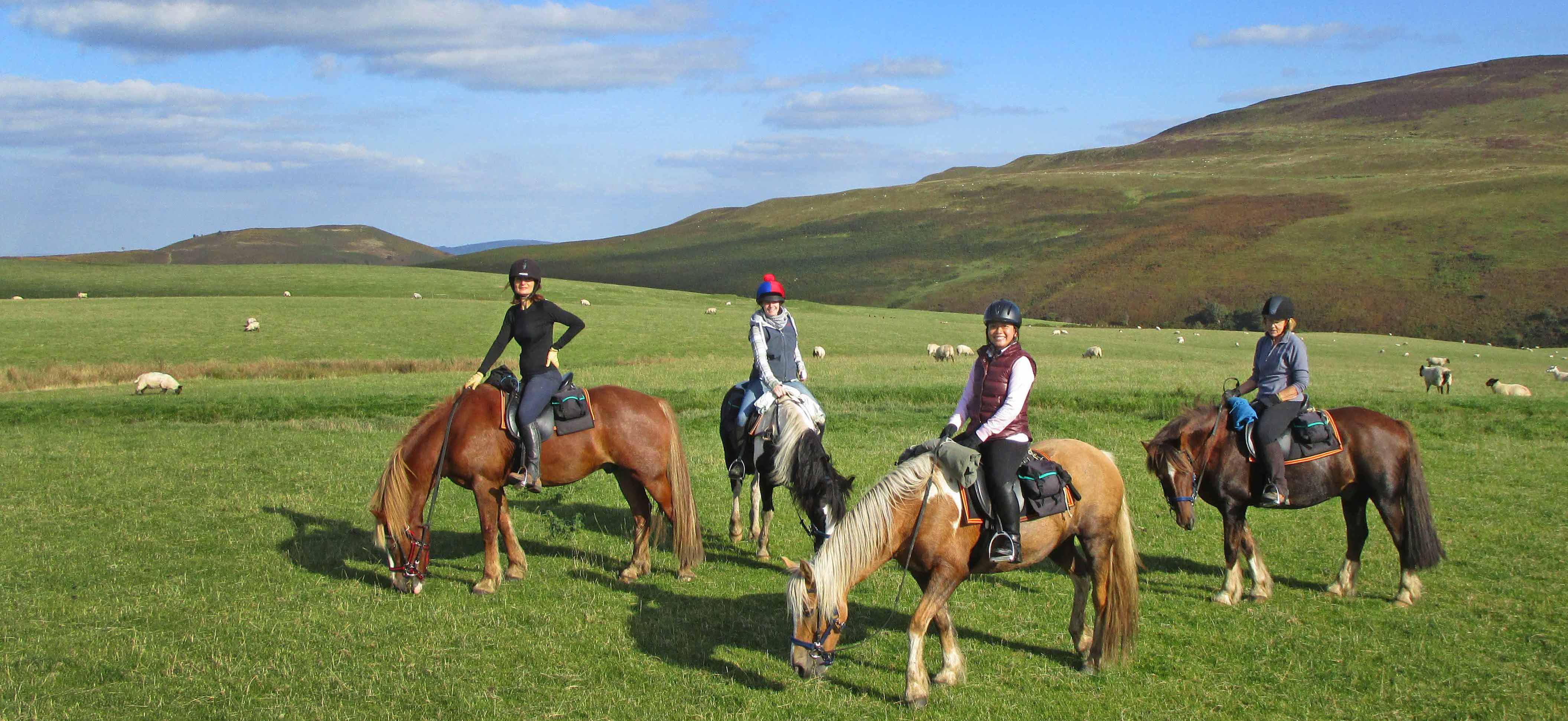 1 week trail ride Brecon £1656pp
