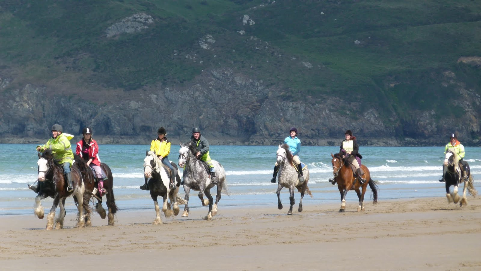 Beach Ride Pembrokeshire from £315pp