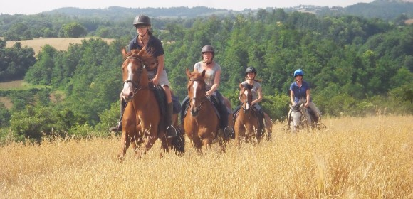 Castle Based Trail Ride from £850pp
