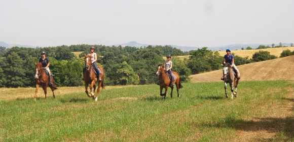 Ride, Spa and Wine in Tuscany