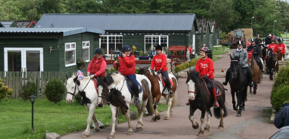 Unaccompanied Childrens Riding in Scotland from £585pp