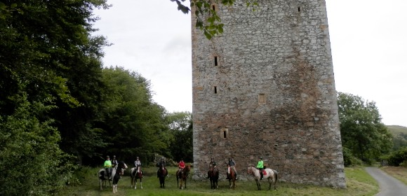 Scottish Castles Trail Ride from £1425pp