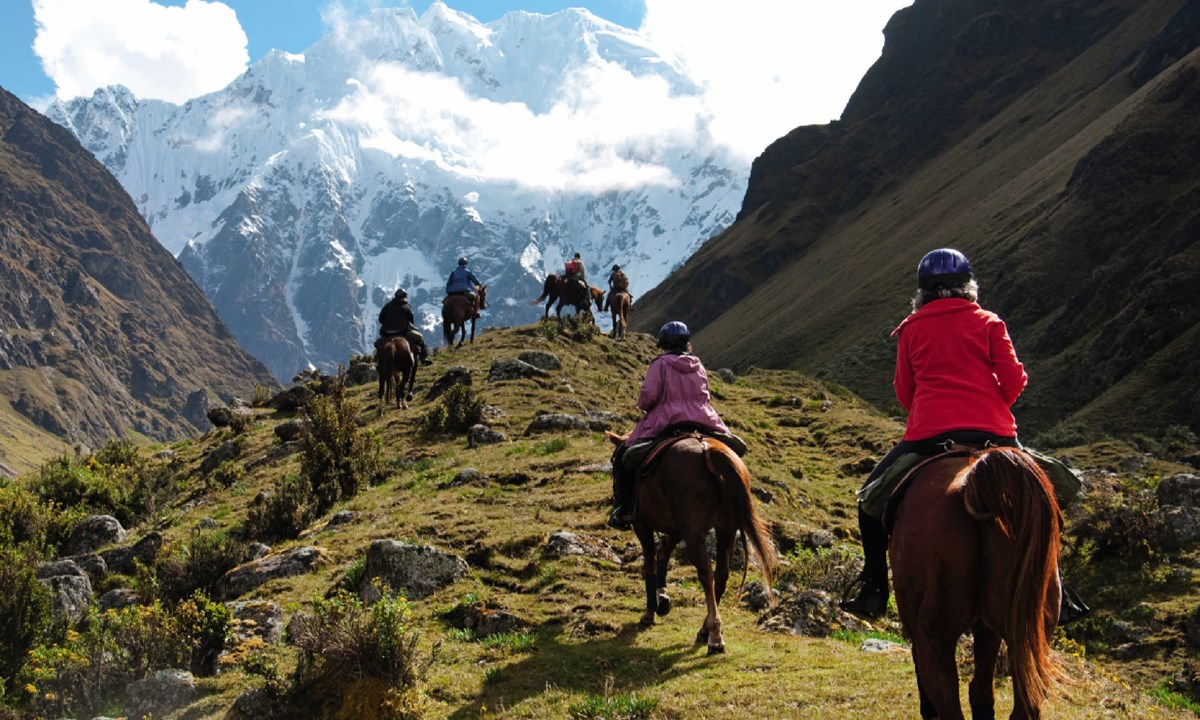 Ride to Machu Picchu, Peru from £2600pp