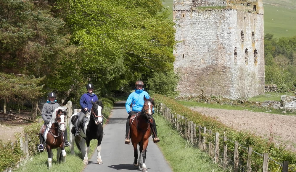 Scottish Castles Trail Ride from £1485pp