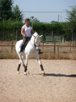 Classical riding Spain